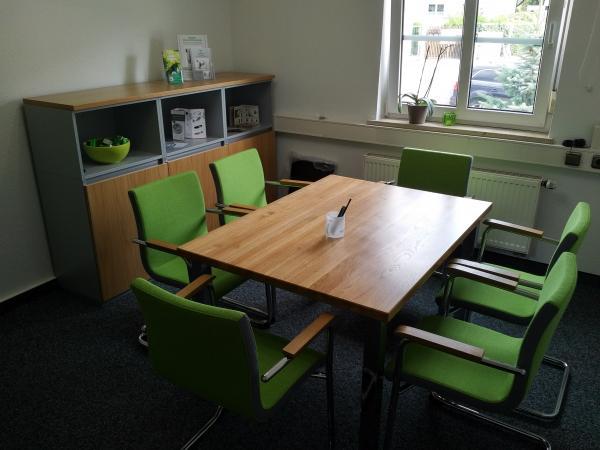 Bild des Beratungsraumes Grüner Salon