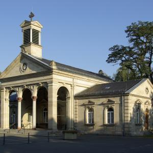 Aussegnungshalle Friedhof Fürth